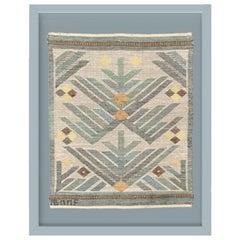 Vintage Scandinavian Modern Tapestry designed by Märta Måås-Fjetterström