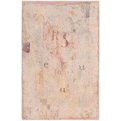 Vintage Scandinavian Paul Klee Modern Art Rug