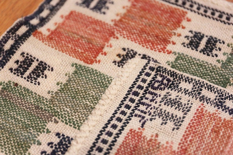 Vintage Scandinavian Rug by Marta Maas In Good Condition For Sale In New York, NY