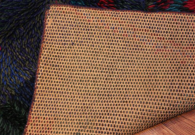Vintage Scandinavian Rya Rug by Ritva Puotila  For Sale 1