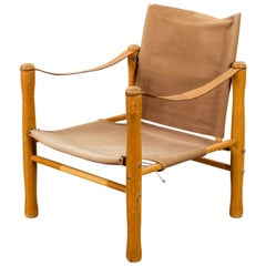Vintage Scandinavian Safari Chair