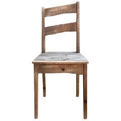Vintage Scandinavian Sculptural Spruce Chair