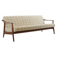 Vintage Scandinavian Sofa / Sofa Bed / Daybed, in Teak, 1960s