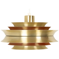 Vintage Scandinavian Trava Ceiling Pendant by Carl Thore for Granhaga, 1960s