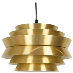 Vintage Scandinavian Trava Pendant Lamp by Carl Thore for Granhaga, 1960s