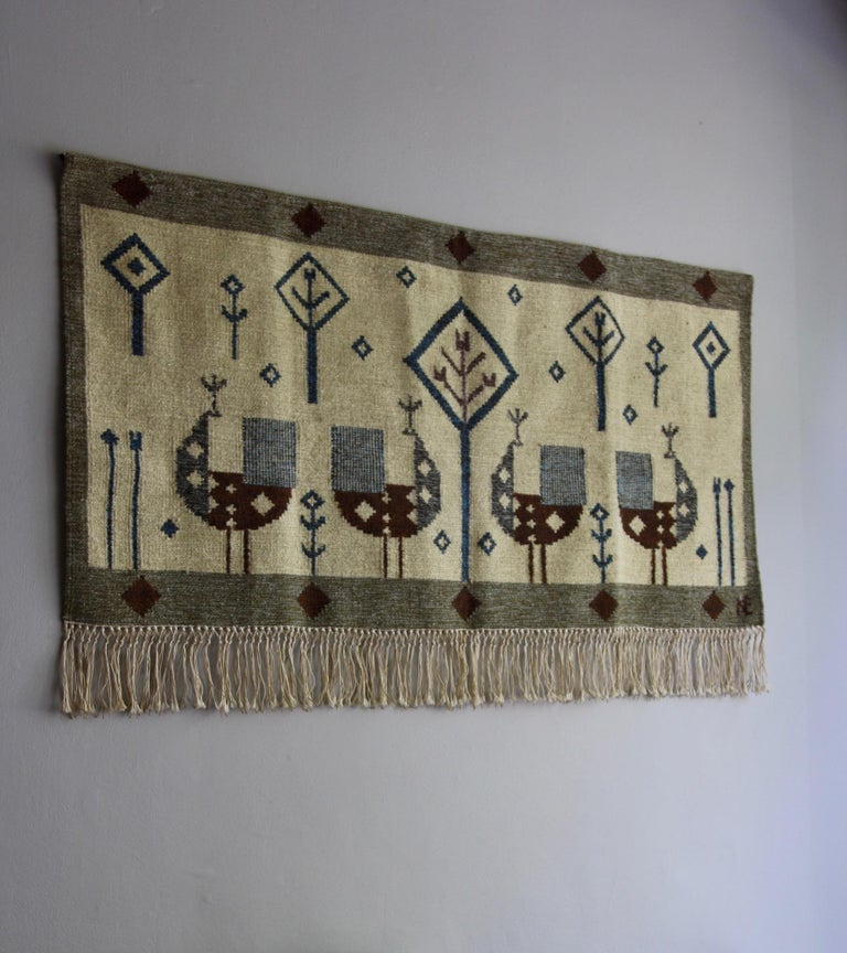 Vintage Scandinavian Wall Tapestry Wall Tapestry 10 For
