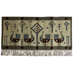 Vintage Scandinavian Wall Tapestry 'Wall Tapestry #10'