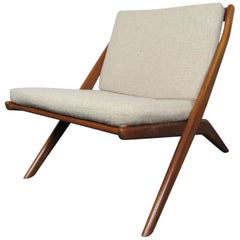 Vintage Scissor Chair by Dux of Sweden