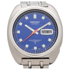 Vintage Seiko Reference 6106-8237 Stainless Steel Watch, 1969