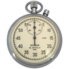 Vintage Sekonda Mechanical Stopwatch