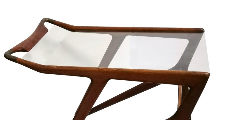 Mid-20th Century Vintage Serving Cart by Angelo De Baggis and Ico Parisi 'Attributed', Italy For Sale