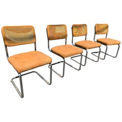 Vintage Set of 4 Cesca Chairs