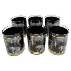 Vintage Set of 6 George Briard Highball Glasses