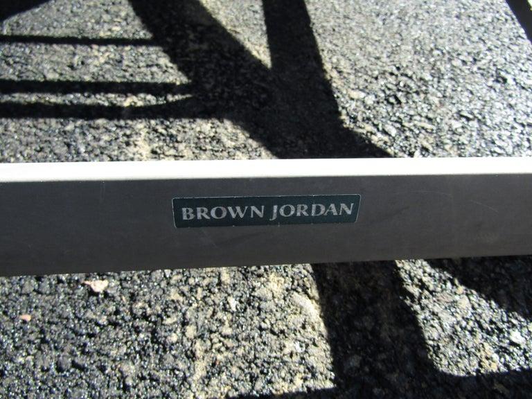 Vintage Set of Patio Furniture by Brown Jordan For Sale 4
