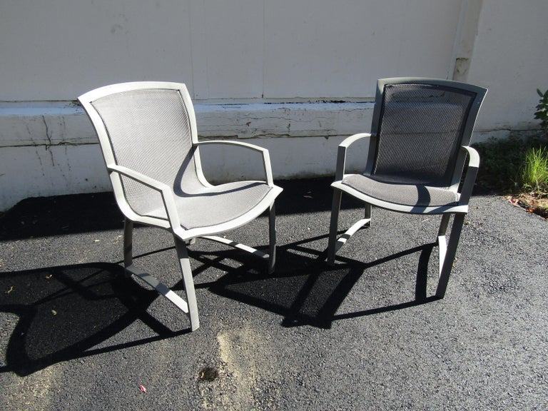 Late 20th Century Vintage Set of Patio Furniture by Brown Jordan For Sale