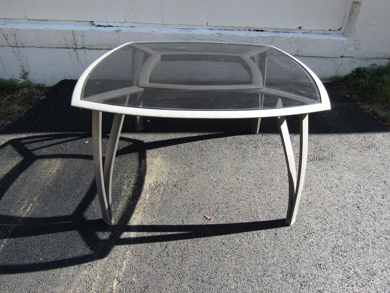 Aluminum Vintage Set of Patio Furniture by Brown Jordan For Sale