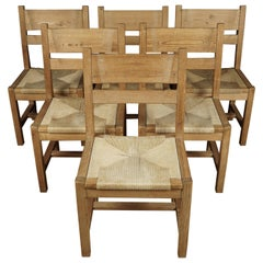 Vintage Set of Pine Chairs from Sweden, circa 1960