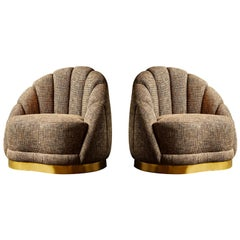 """Vintage """"Shell"""" Armchairs"""