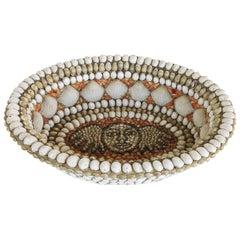 Vintage Shell Centerpiece Bowl by Barton Lidicé Beneš, 1942-2012