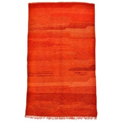 Vintage Shining Chichaoua Moroccan Rug, Shades of a Morocan Sunset