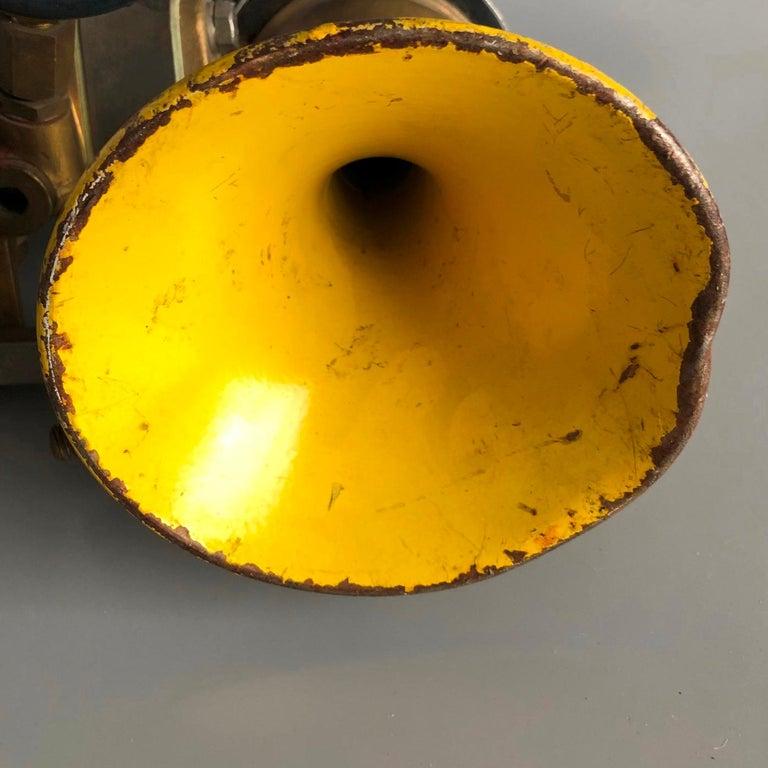 20th Century Vintage Ships Navigation Horn, Germany, 1980s For Sale