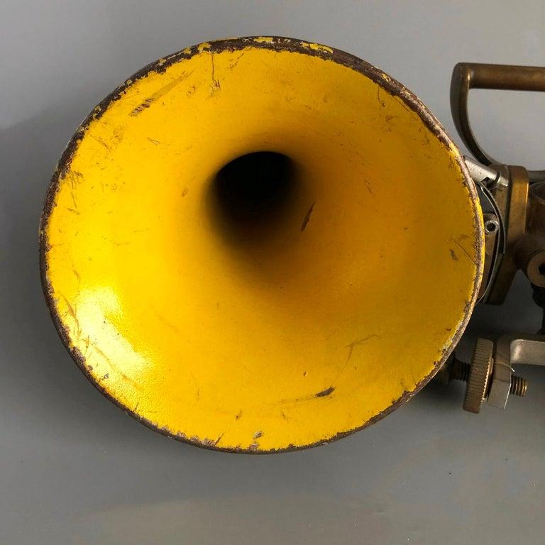 Vintage Ships Navigation Horn, Germany, 1980s For Sale 1