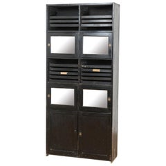 Vintage Shop Fitting Jewelry Display Cabinet, 20th Century