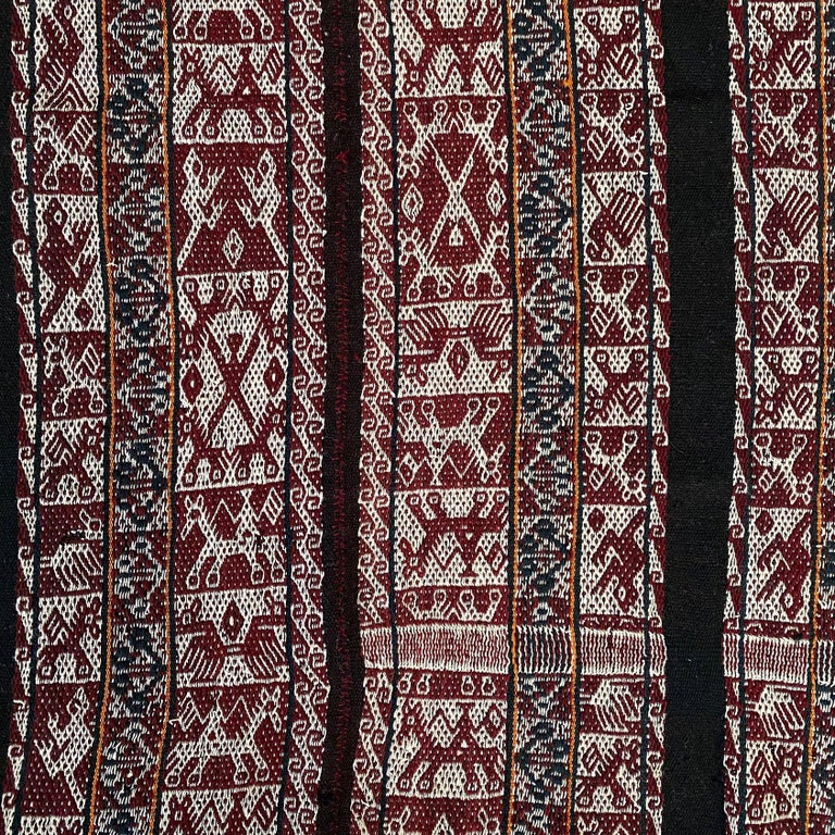 Other Vintage Shoulder 'Manta' or Carrying Cloth, Quechua People, Sacred Valley, Peru For Sale