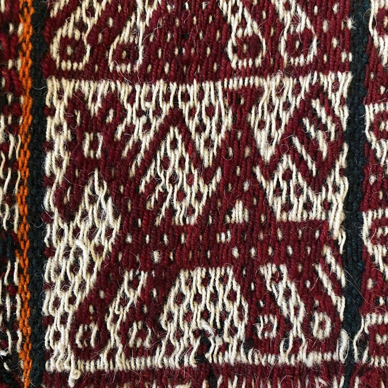 Hand-Woven Vintage Shoulder 'Manta' or Carrying Cloth, Quechua People, Sacred Valley, Peru For Sale
