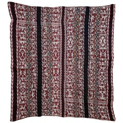 Vintage Shoulder 'Manta' or Carrying Cloth, Quechua People, Sacred Valley, Peru