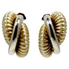 Vintage Shrimp Style Earrings
