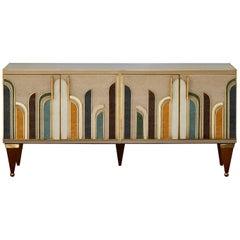 Vintage Sideboard in Mirror by Studio Glustin