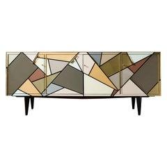 Vintage Sideboard in Mirror