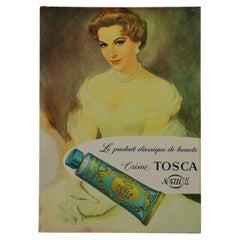 Vintage Sign Creme Tosca 4711, Eau de Cologne Beauty Product