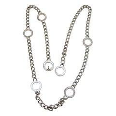 Vintage Signed Anne Klein Necklace-Belt