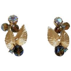 Vintage Signed Schiaparelli Earrings