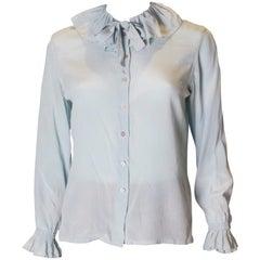 Vintage Silk Blouse by Dana Cote d'Azur