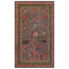 Vintage Silk Chinese Carpet