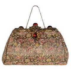 Vintage Silk Floral Bag