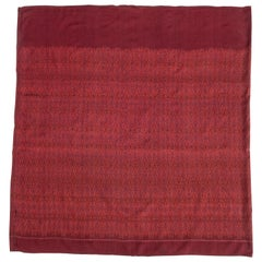 Vintage Silk Ikat Sarong from Northeast Thailand or Cambodia, Mid-20th Century