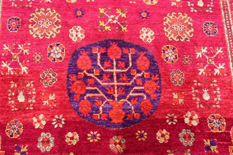 Vintage Silk Khotan Rug 11