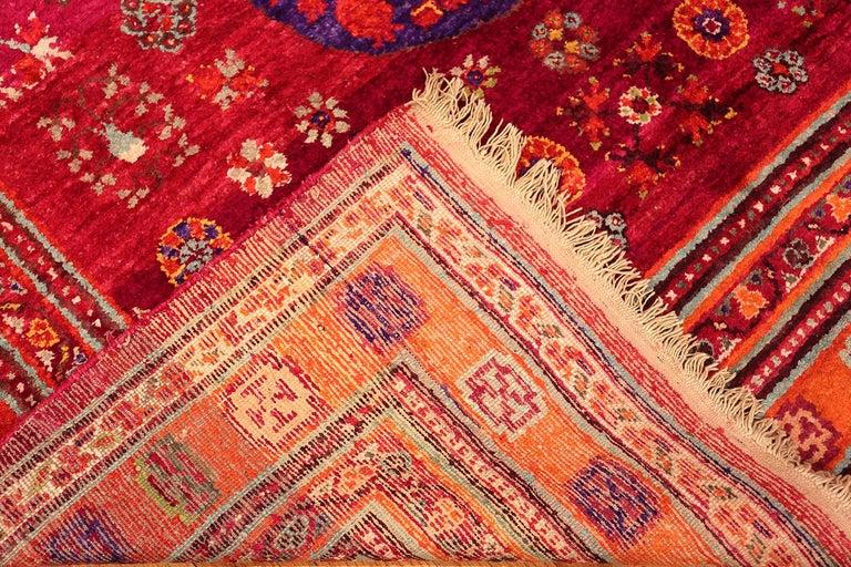 Vintage Silk Khotan Rug 2