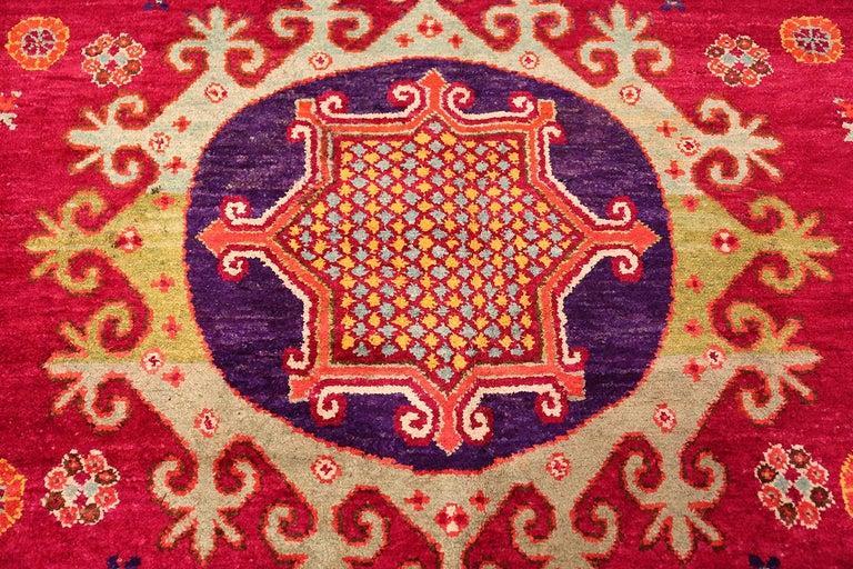 Vintage Silk Khotan Rug 5