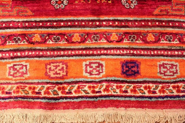 Vintage Silk Khotan Rug 6