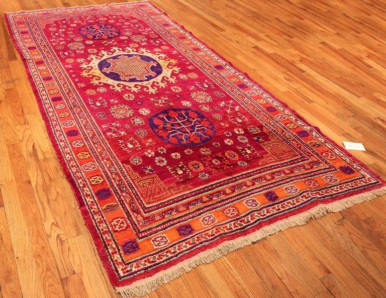Vintage Silk Khotan Rug 7