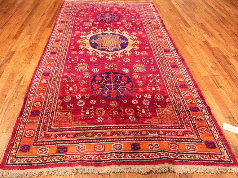 Vintage Silk Khotan Rug 8