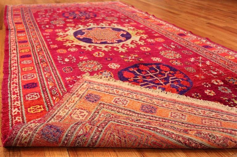 Vintage Silk Khotan Rug 9