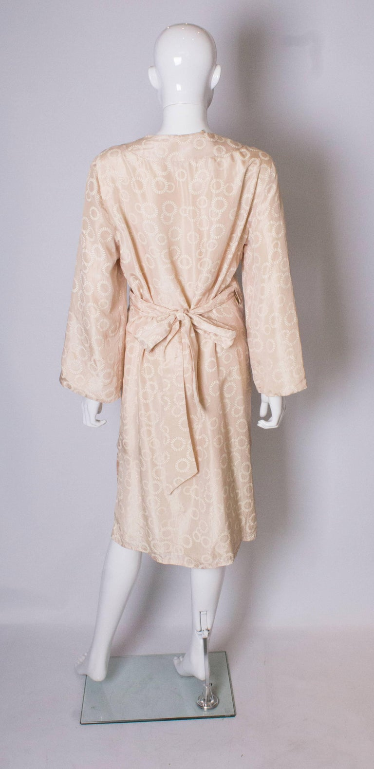 Vintage Silk Kimono Style Dress For Sale 2