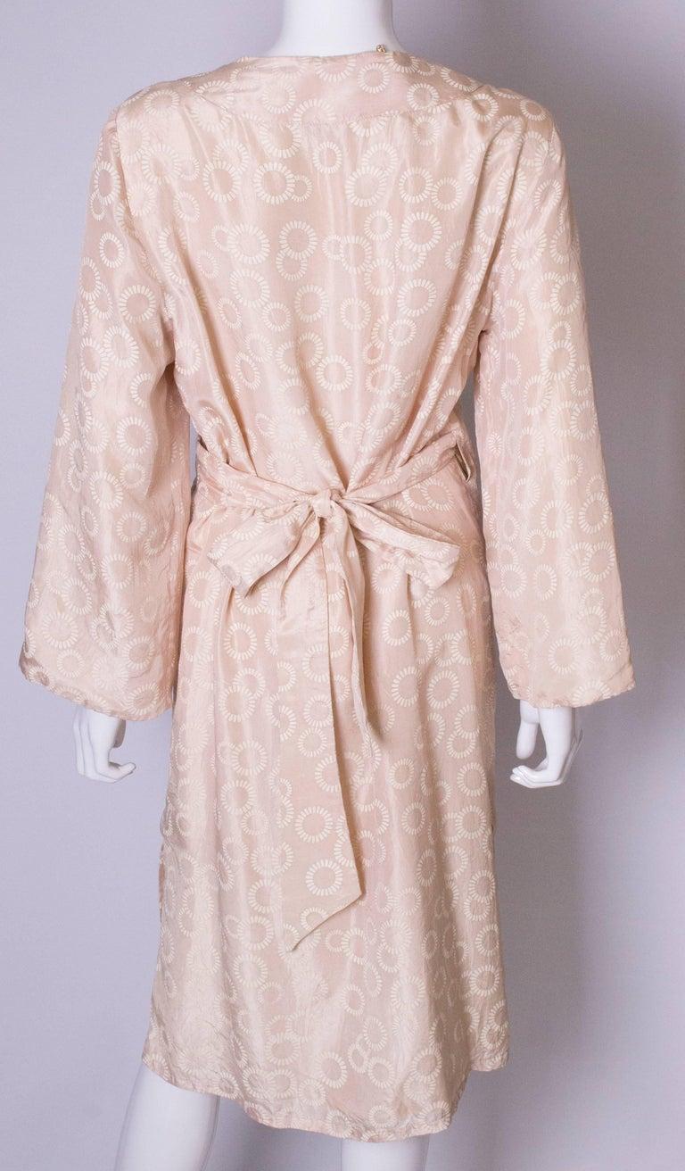 Vintage Silk Kimono Style Dress For Sale 3