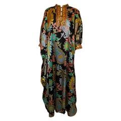 Vintage Silk Sadie Kaftan by Sadie for I Magnin and Co